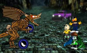 Battle of Steam manicion dragon by xxHeavyswagxx