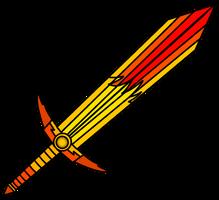Demonrobloxian's Hell lava sword fire by xxHeavyswagxx