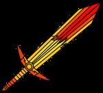 Demonrobloxian's Hell lava sword fire