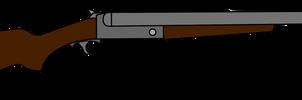 Double barrel shotgun by xxHeavyswagxx
