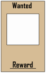 Wanted Poster Base