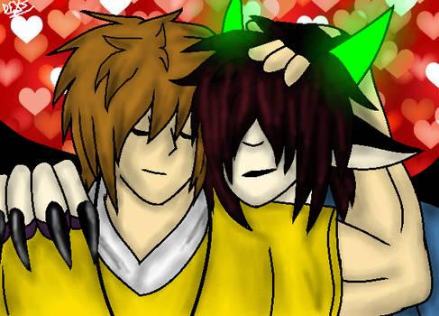 (Fanart) A hug to Me