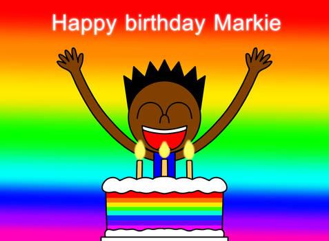 (B-DAY) Happy birthday Markie