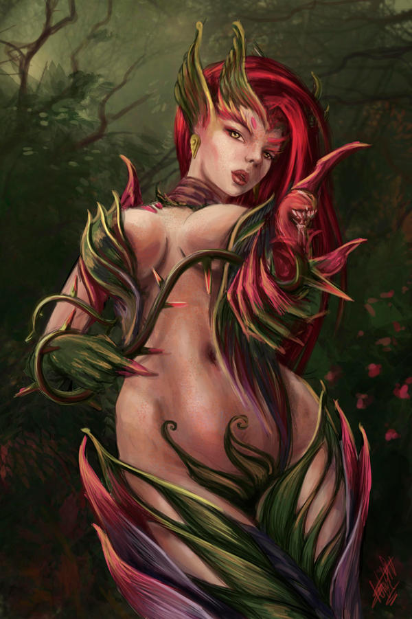 Feel the thorns' embrace by Abend86