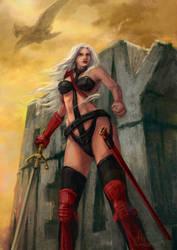 Taarna- Heavy metal fan art by Abend86