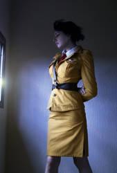 Motoko Kusanagi---JGSDF Uniform by Abend86