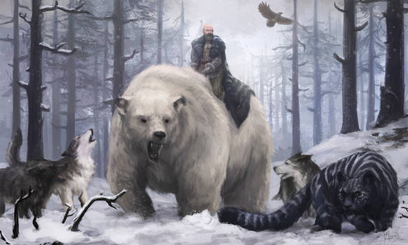 A song of ice and fire - Varamyr Sixskins