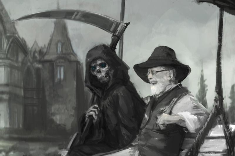 Farewell Sir Terry Pratchett by Abend86