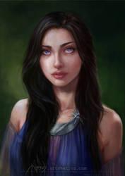 Ashara Dayne by Abend86