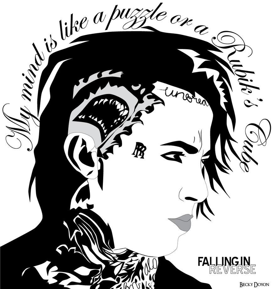 Falling In Reverse Logo Falling in Reverse (Ro...