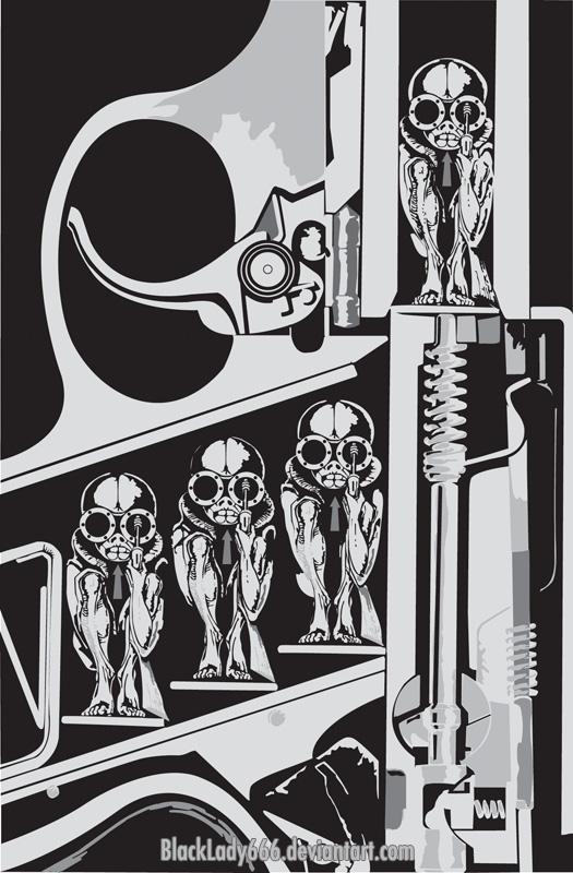 homenaje a H.R. Giger by blacklady666
