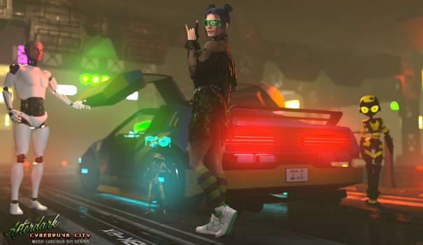 AfterDark: Cyberpunk City