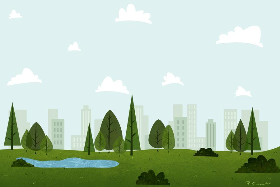 conceptual cartoon city parkhi-gummy on deviantart