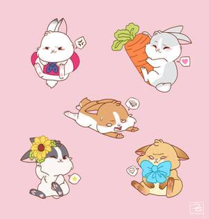 Bunny Set 2