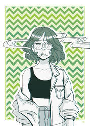 Girls Gang- Green by Hi-Gummy