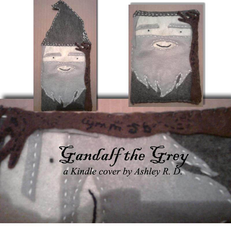Gandalf the Grey - Kindle Cover by AshleyRD