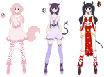 Cute Adoptables SB: FREE Auction CLOSED by KazaneAdopts