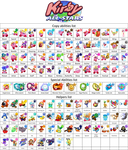 Fangame Kirby All-stars Copy Abilites And Helpers