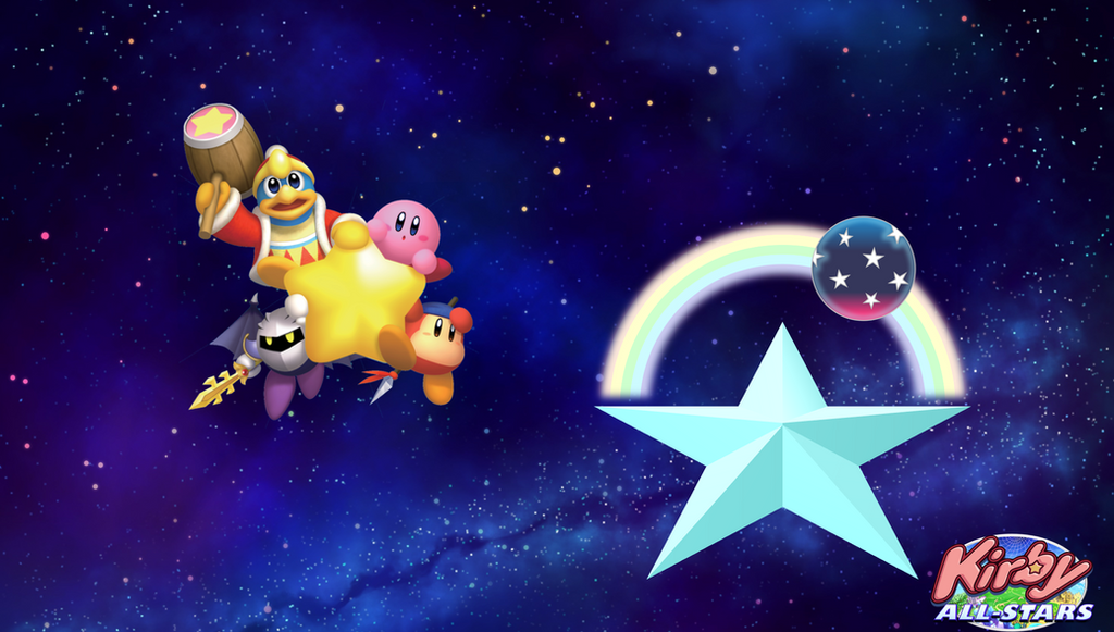 fangame kirby all stars rainbow star planet by coldeye125