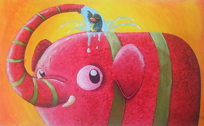 Elefante Dociia by Vallina84