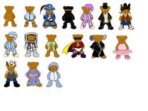 WIP Bear Outfits