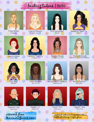 OC Yearbook 2020 - Ladies