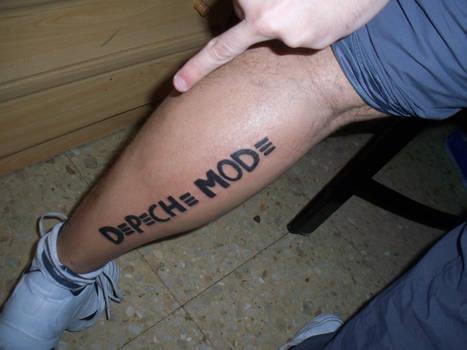 Depeche Mode tattoo
