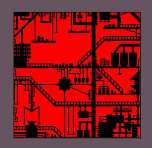 Simple factory pixel art