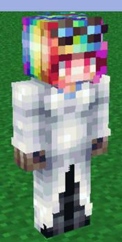 Rainbow factory Minecraft skin