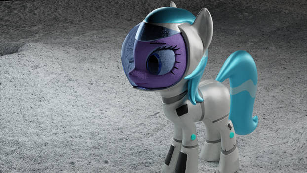Pony on the moon (2k)