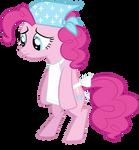 Overworked Pinkie Pie