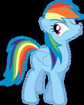 Rainbow Dash Wink