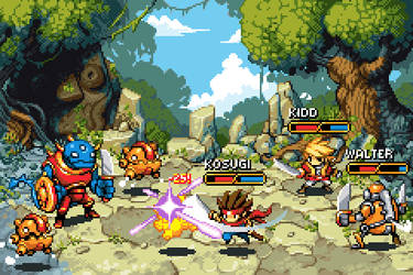 RPG Battle by jnkboy