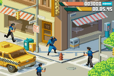 Last Ninja 2 GBA Redux by jnkboy
