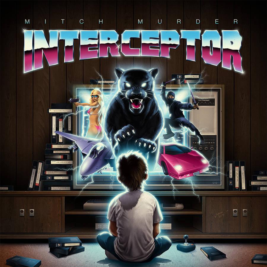 Mitch Murder - Interceptor (front cover) by jnkboy