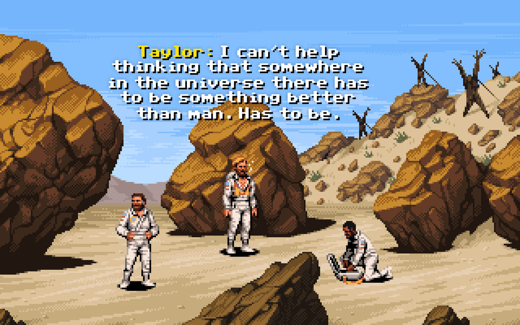 Planet of the Apes (DOS, 1990) by jnkboy