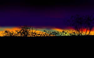 Strange sunset by Karren-san