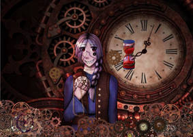 Steampunk Kronos by Karren-san