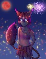 Cheerleader Hotaru (background version) by Karren-san