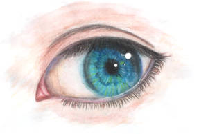 Realistic eye by Karren-san
