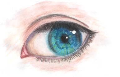 Realistic eye by Karren-san
