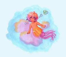 A dream of the jellyfish by Karren-san