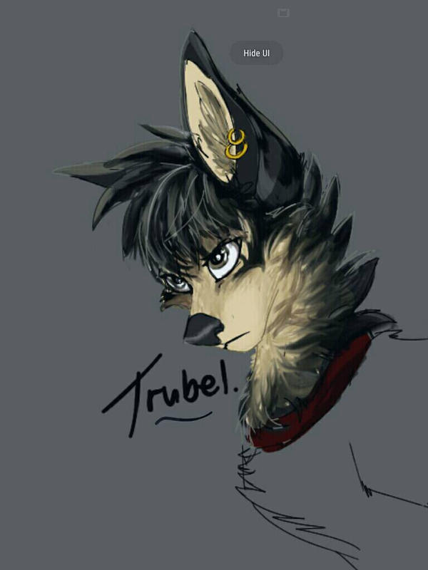 Roughly drawn, Trubel from Grimm by Streetfair
