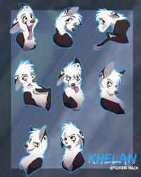 Khelan Stickers by Streetfair