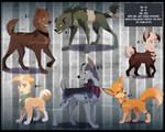 Adopts Auction: Mix breeds (CLOSED)