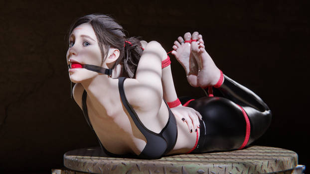 Claire's Tight Hogtie