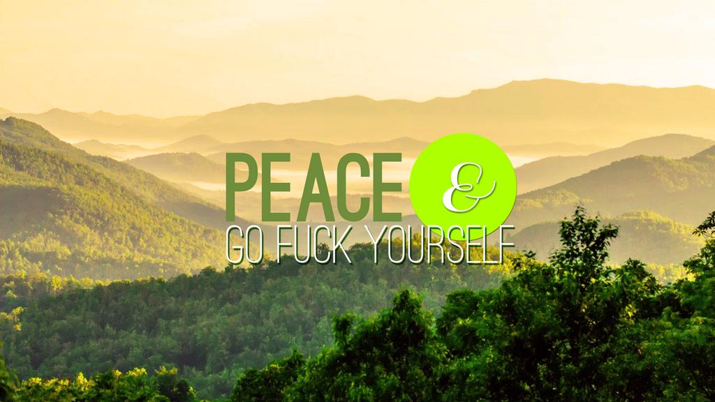 Peace E... Wallpaper by soficanorio