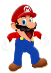 Mario (SMG4VERSE) Render (PNG)