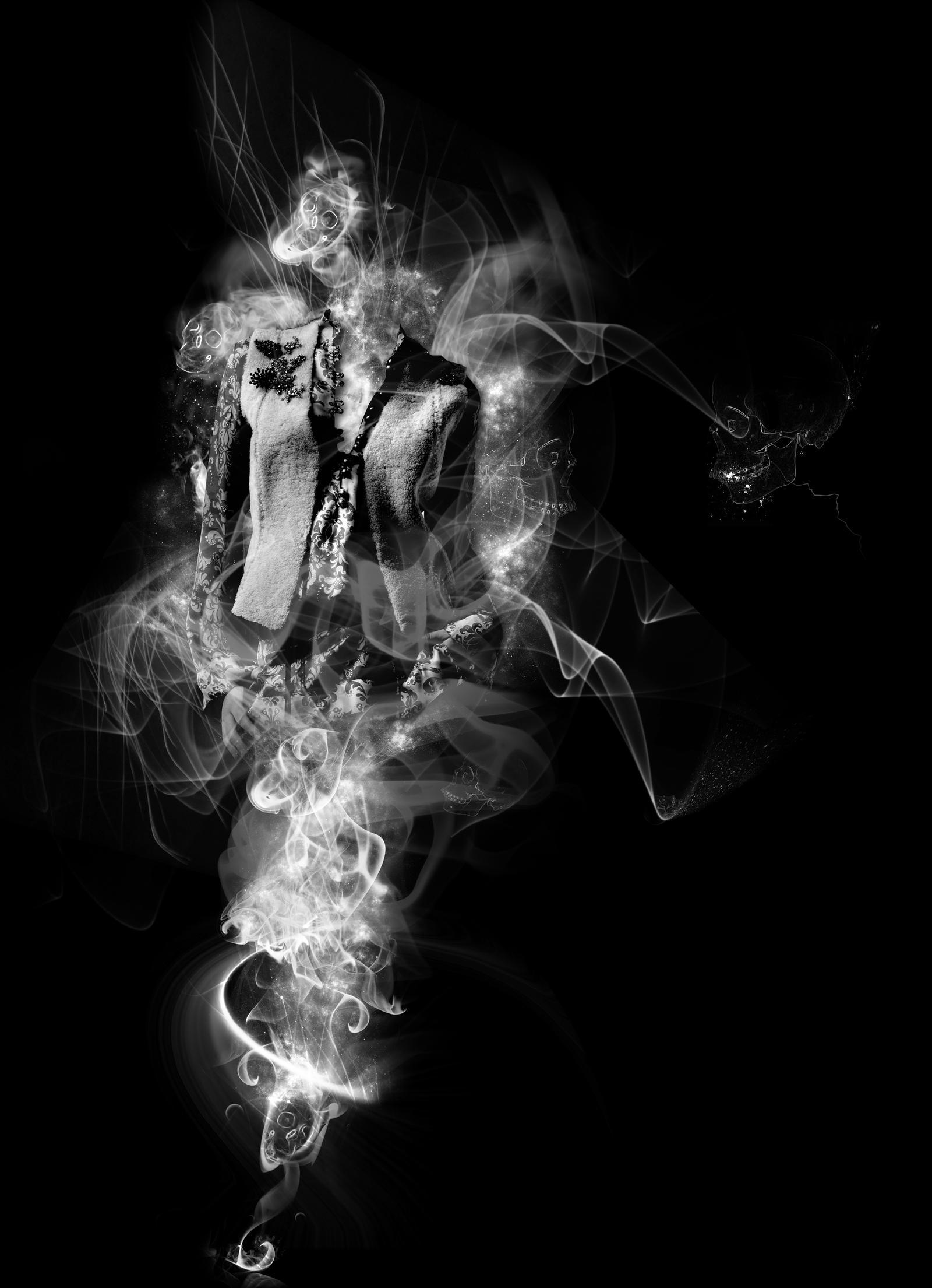 Smoking Skull by vidinha on DeviantArt