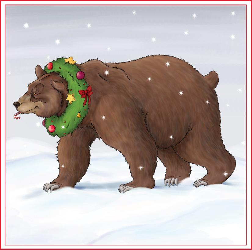 Christmas Bear.Christmas Bear By Ursusarctos On Deviantart